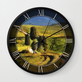 Postards from Italy - Toscany Wall Clock