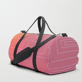 Art Deco sunset Duffle Bag