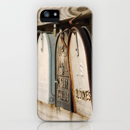 You've Got Mail iPhone Case