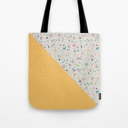 Pez Otomi yellow by Ana Kane Tote Bag