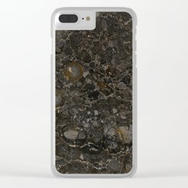 Marble Texture Surface 12 Clear iPhone Case