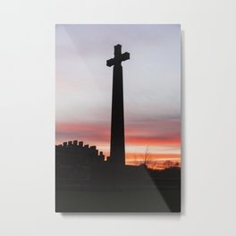 Durham Cross Metal Print