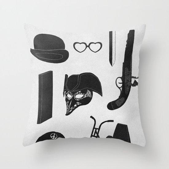2011: A Kubrick Odyssey Throw Pillow