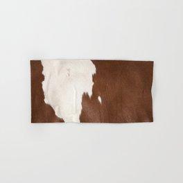 Brown Cowhide v4 Hand & Bath Towel