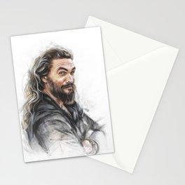 Momoa smile Stationery Cards