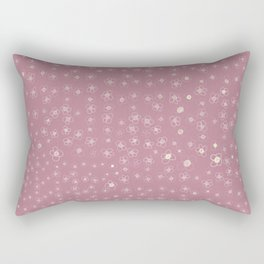 Sunset in Odense XI Hand drawn doodle floral Rectangular Pillow