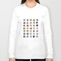 grid Long Sleeve T-shirts featuring Grid by Bram Myers