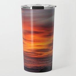 Sunset @ Gaviota Travel Mug