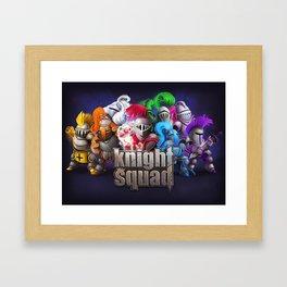 Knight Squad team Framed Art Print