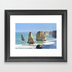 Earth's Evolution Framed Art Print