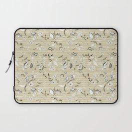 Paisleys in Biege - by Fanitsa Petrou Laptop Sleeve