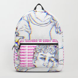 Respect Existence or Expect Resistance Backpack