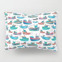 Fishing Boats Pillow Sham