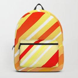 Sunshine Sideways Stripy Backpack