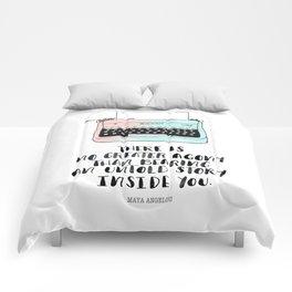 WRITE Comforters