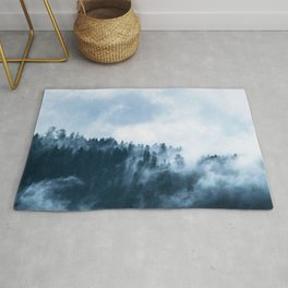 The Wilderness, Foggy Forest Rug