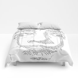 Salvador Dalì WordsPortrait Comforters