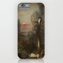 HERCULES AND THE LERNAEAN HYDRA - GUSTAVE MOREAU iPhone Case