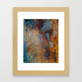 Pier Patina Framed Art Print