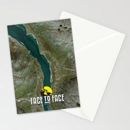 Face To Face - Ape & Man Stationery Cards