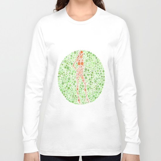Color Blind Test Long Sleeve T-shirt