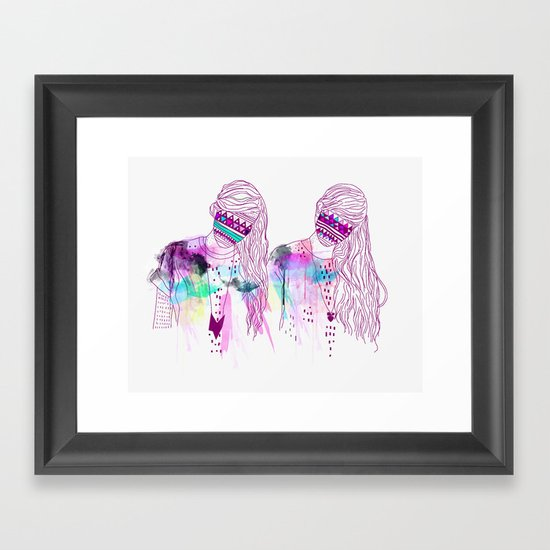 ▲GIRLS▲ Framed Art Print
