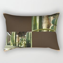 Cactus Garden Blank Q3F0 Rectangular Pillow