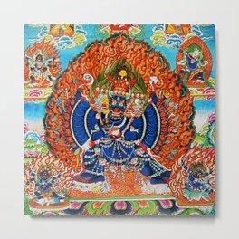 Tantric Buddhist Vajrabhairava Deity 3 Metal Print