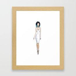 Kylie Jenner Framed Art Print