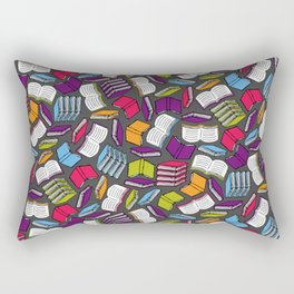 So Many Colorful Book... Rectangular Pillow