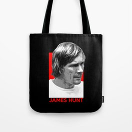 Formula One - James Hunt Tote Bag