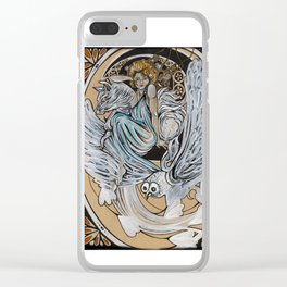 Athena and Familiars Clear iPhone Case