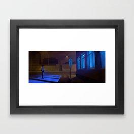 Late night comebacks Framed Art Print