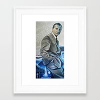 bond Framed Art Prints featuring Bond by HUP126