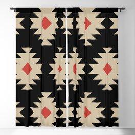 Colorful Southwestern Pattern 553 Blackout Curtain