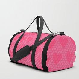 Pink Designer Princess Heart Duffle Bag