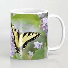 Lilac Butterfly Coffee Mug