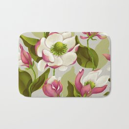 magnolia bloom - daytime version Bath Mat