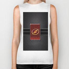 super hero flash Biker Tank