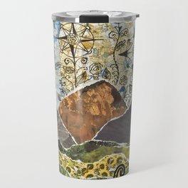 Compass Rose Garden Travel Mug