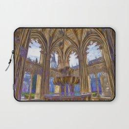 Batalha gothic Laptop Sleeve