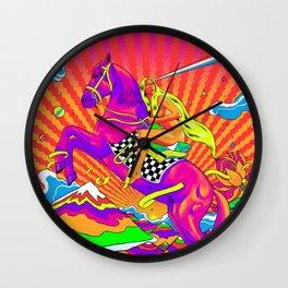 Lady Godiva - Bright Day Wall Clock