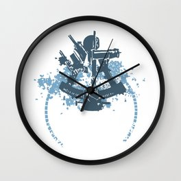 Sextant Wall Clock