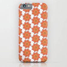 Spring Floral Pattern Slim Case iPhone 6s