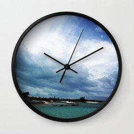Stormy Skies Wall Clock