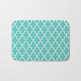 Moroccan - Turquoise Bath Mat