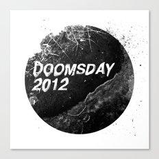 Doomsday 2012 Canvas Print