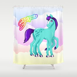 LF Sleipnir Shower Curtain