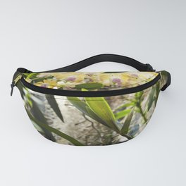 Yellow Orchid Fanny Pack