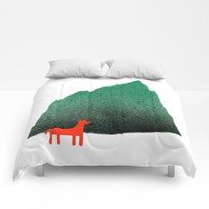 Man & Nature - Island #1 Comforters